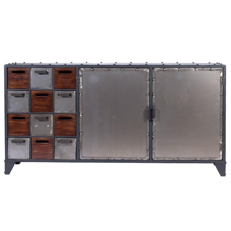 Mueble Aparador metlico estilo industrial Laconia Hantol Design